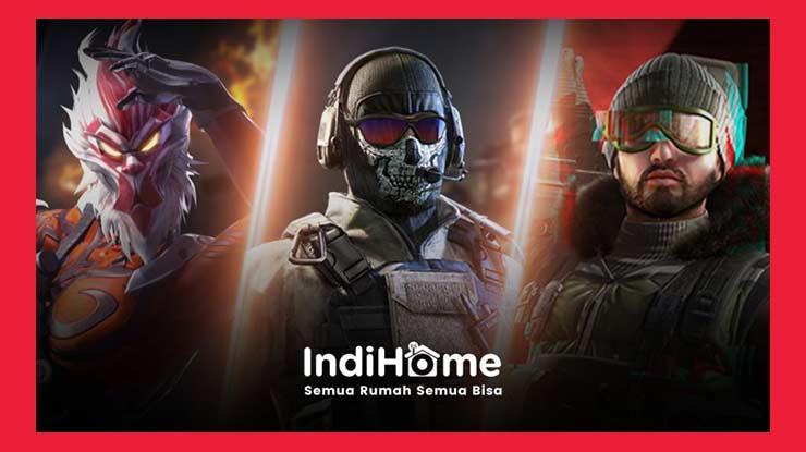 Bonus Bagi Pelanggan Paket Gaming Indihome