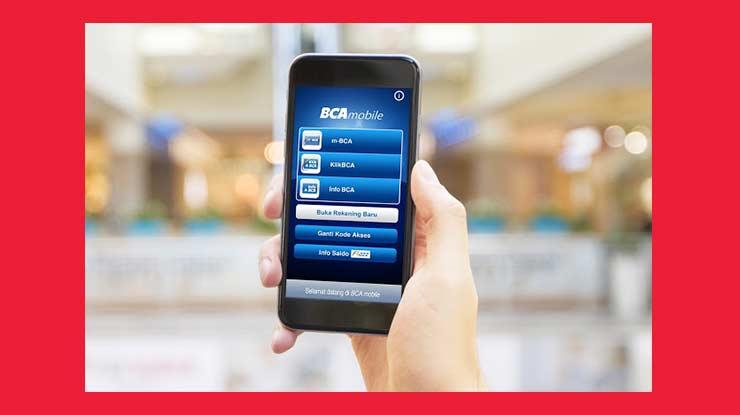 Melalui BCA Mobile