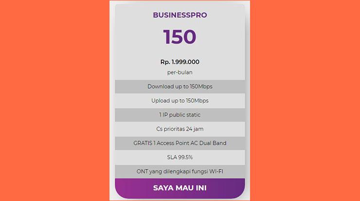 Business Pro 150 Mbps