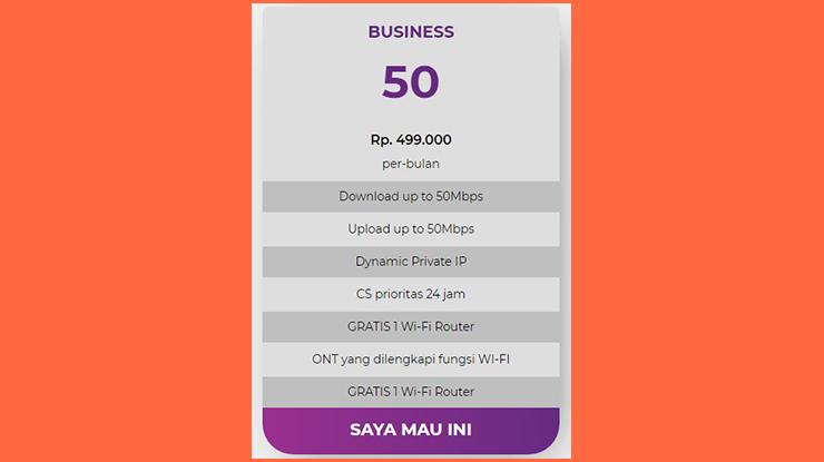 Business Pro 50 Mbps