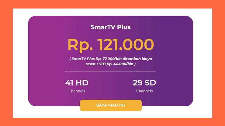 Harga Paket My Republic SmarTV Plus