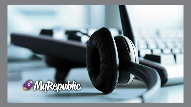 Melalui Call Center MyRepublic