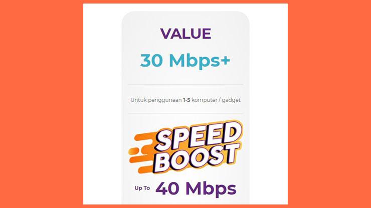 Value 30 Mbps