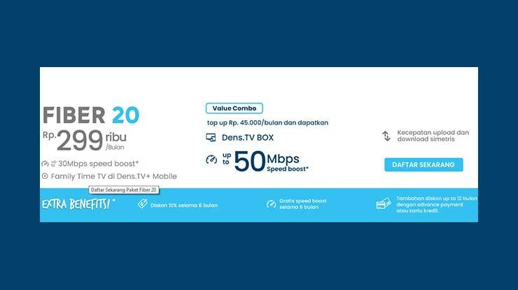 Fiber Broadband 20