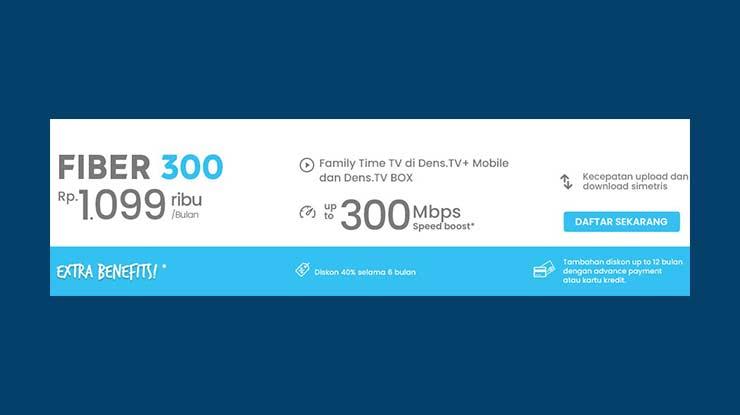 Fiber Broadband 300