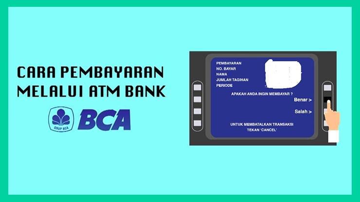 Bayar XL Home Lewat ATM BCA