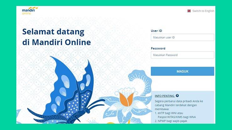 Bayar XL Home Lewat Internet Banking Mandiri