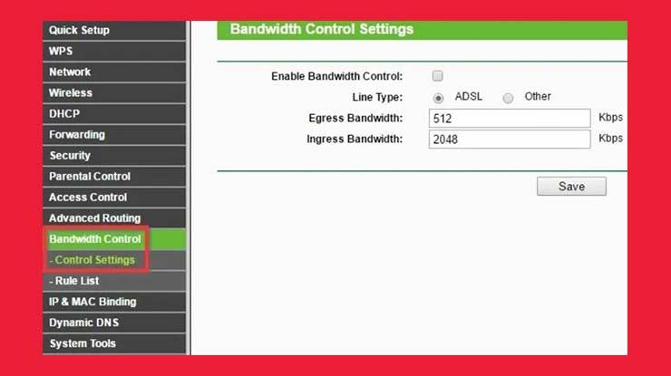 Cara Membatasi Bandwidth di Router TP Link