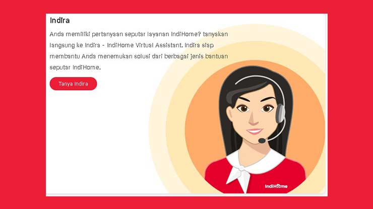 Cek Jaringan Lewat Call Center Indihome