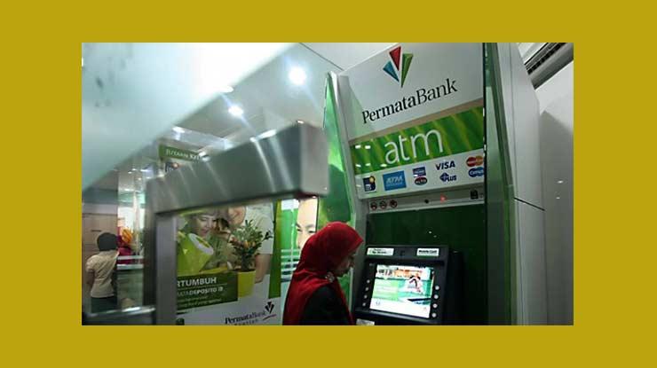 Lewat ATM Bank Permata
