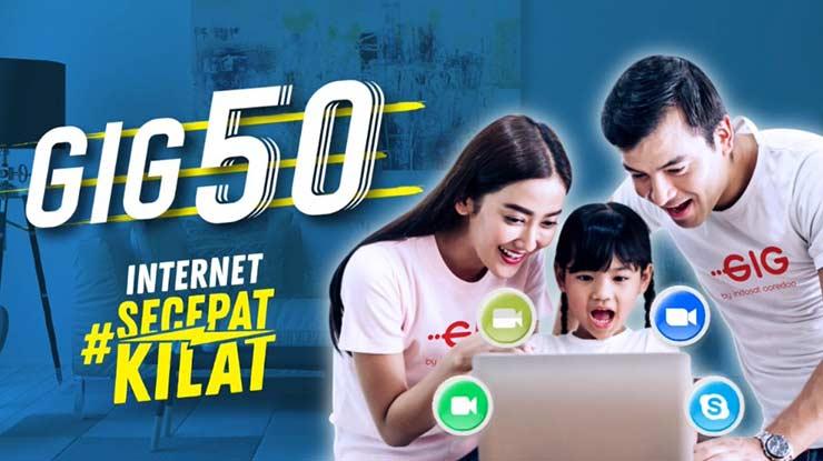 Paket Internet GIG Indosat