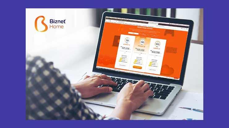 Pilihan Paket Internet Biznet Home