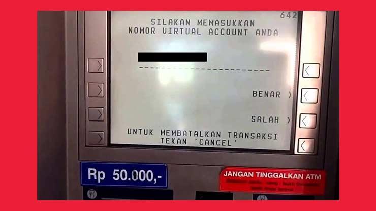 Bayar Deposit Indihome Lewat ATM BCA