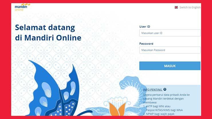 Bayar Deposit Indihome Lewat Internet Banking Mandiri