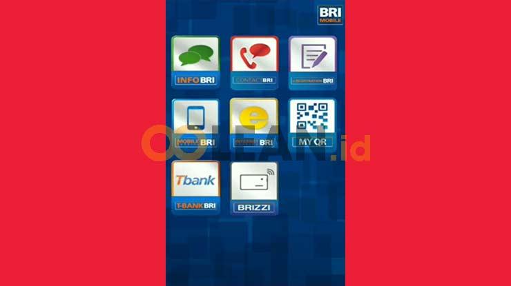 Jalankan Aplikasi BRI Mobile