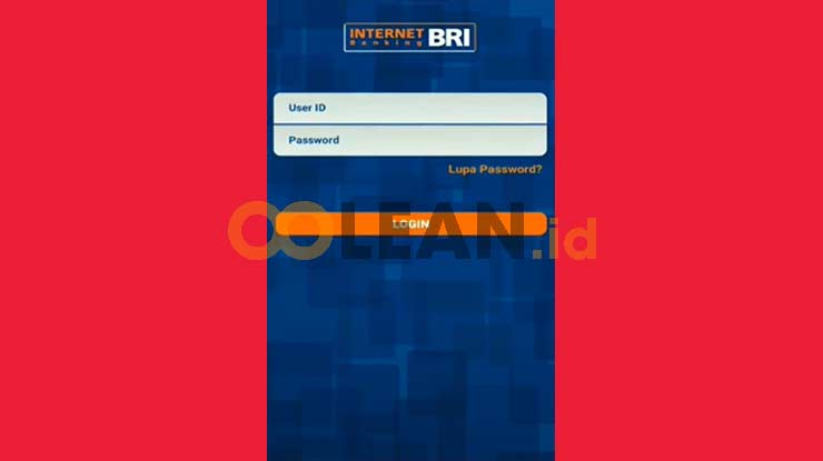 Login Internet Banking BRI
