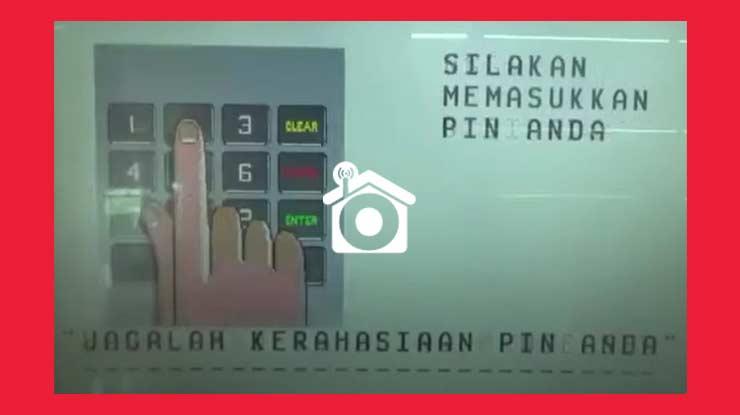 Masukkan PIN ATM BCA