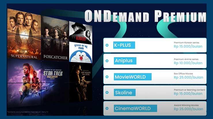 Paket Digital Entertainment