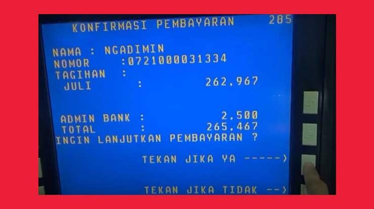 Periksa Data Transaksi