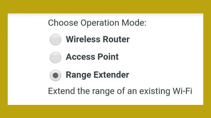 Pilih Range Extender