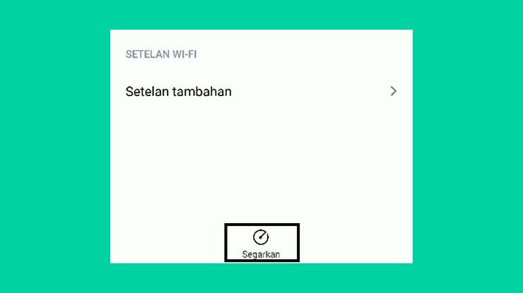 Refresh Wifi
