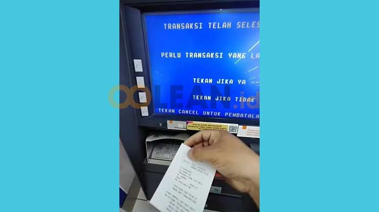Bayar First Media di ATM BNI telah Berhasil