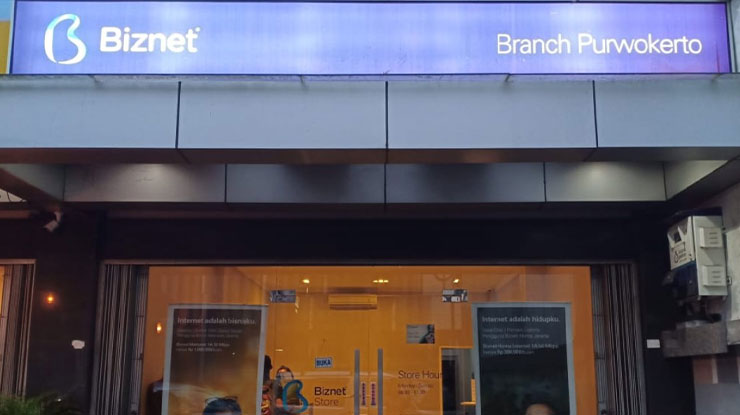 Alamat Branch Biznet di Kota Purwokerto
