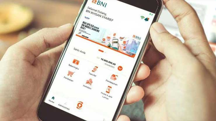 Biaya Admin Pembayaran Biznet Melalui BNI Mobile