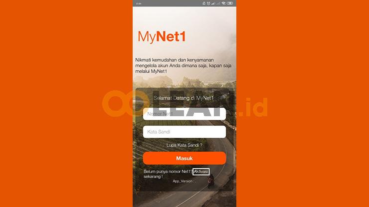 Buka Aplikasi MyNet1