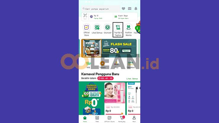 Buka Aplikasi Tokopedia 2