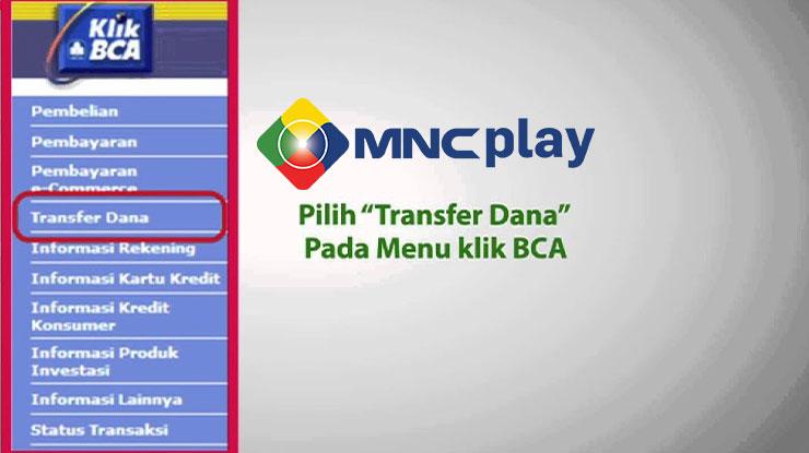 Cara Bayar MNC Play via KlikBCA