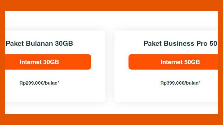 Harga Paket Net1 Personal
