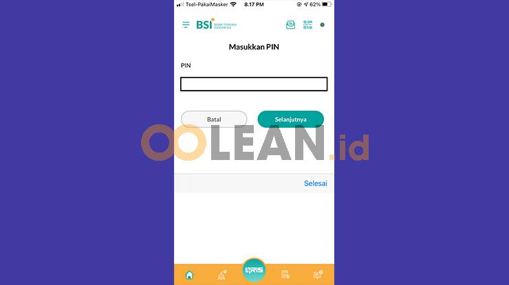 Login BSI Mobile