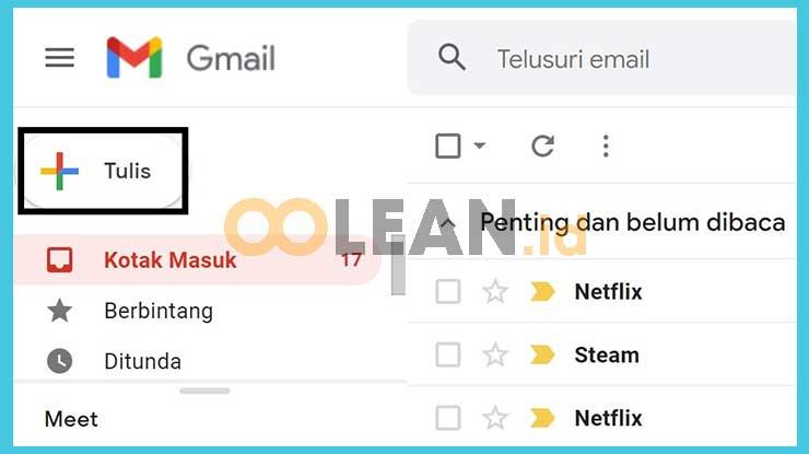 Tulis Email Baru