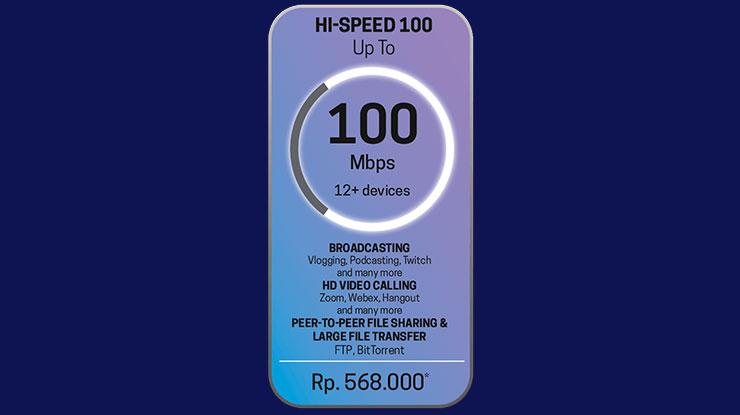 3. Hi Speed 100 Mbps
