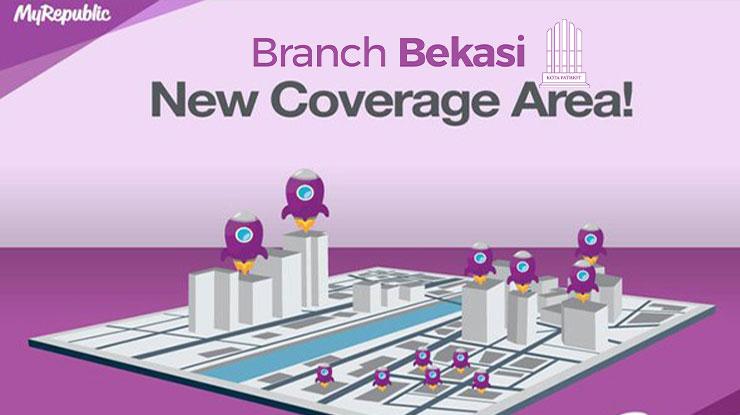 Area Coverage MyRepublic di Bekasi