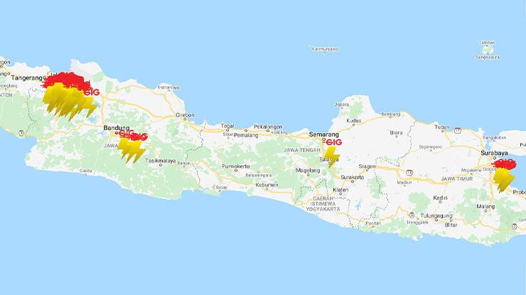 Area Coverage Indosat GIG