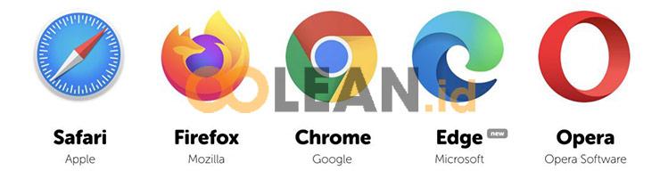 Buka Web browser