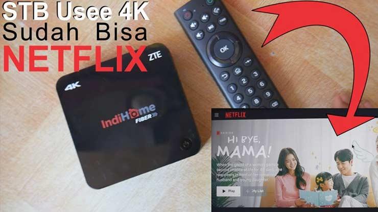 Cara Instal Netflix di STB Indihome
