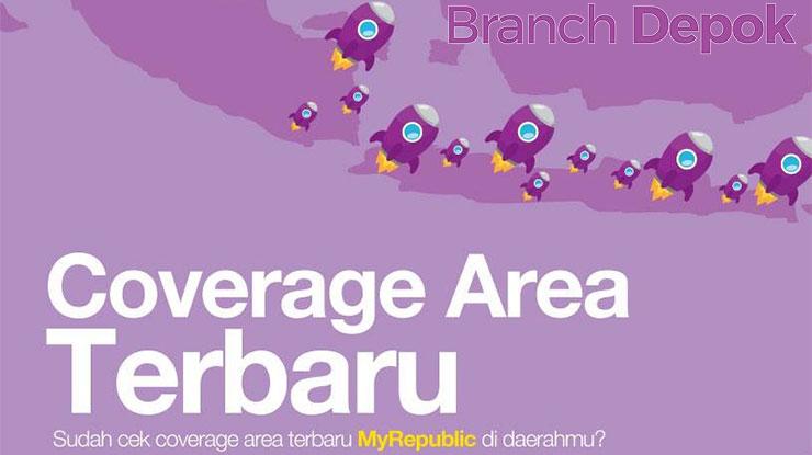 Daerah Jangkauan MyRepublic di Daerah Depok