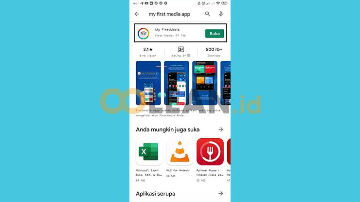 Download Install Aplikasi My First Media