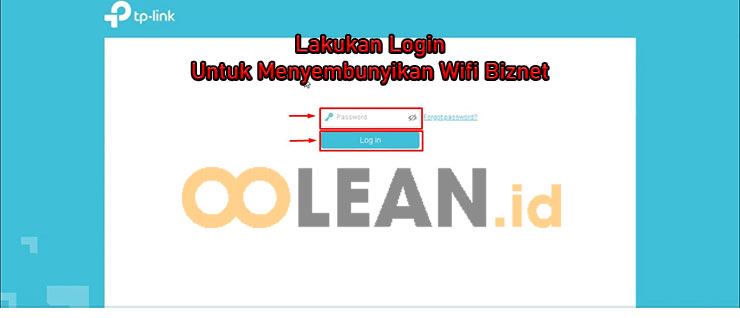 Login Dashboard TP Link