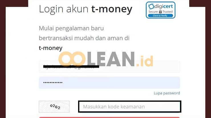 Login T Money