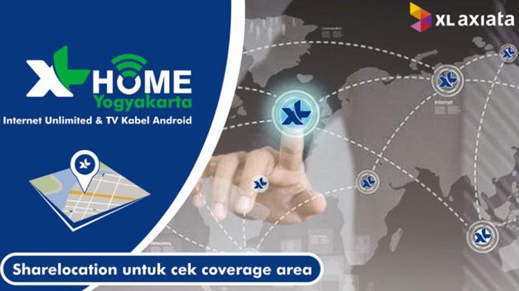 Daftar Area Coverage XL Home di Indonesia