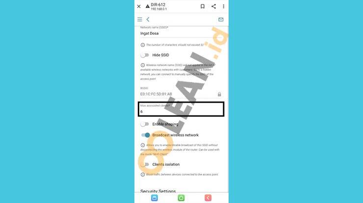 Batasi Pengguna Wifi First Media