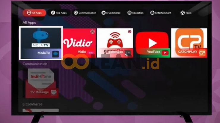 Klik Aplikasi MolaTV