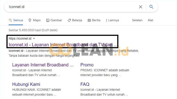 Kunjungi situs Iconnet PLN