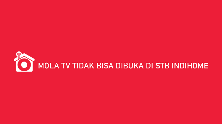 Mola TV Tidak Bisa Dibuka di STB Indihome Begini Cara Mengatasinya