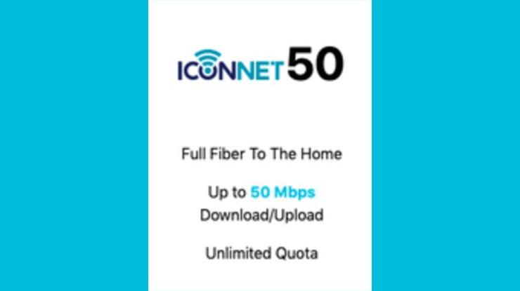 Harga  Paket Iconnect 50