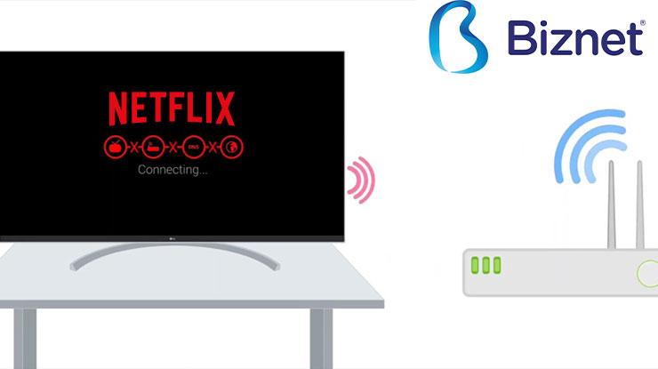 Penyebab Netflix Gangguan di TV Biznet